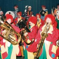 75 Jahre Schneckenburg: Die Clowngruppe durfte natürlich auch nicht fehlen.