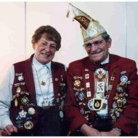 75 Jahre Schneckenburg: Das Vize-Präsidentenpaar Elli und Paul Bischoff.