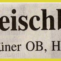 Bunte Abende im Konzil: Zeitungsüberschrift.