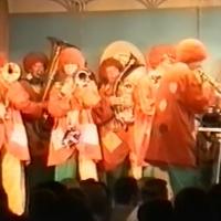 11.11. in der Linde: Und am Schluß die Clowngruppe der Schneckenburg unter der Leitung von Gerd Zachenbacher.