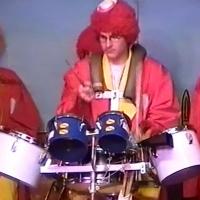 11.11. in der Linde: Die Clowngruppe unter Leitung von Gerd Zachenbacher beschließt den Abend.