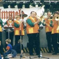 Die Clowngruppe beim Kellerfest vom Ruppaner.