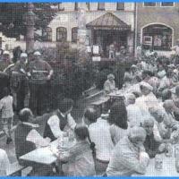 Die Clowngruppe zum Gastspiel in Waldmünchen.
