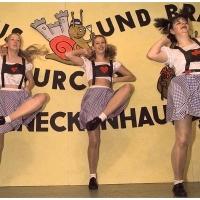 11.11. in der Linde: Auf der Hütten geht die Post ab. Mit dem Showballett der Schneckenburg.