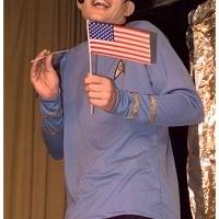 11.11. in der Linde: Spock (Armin Ott) war natürlich auch dabei.