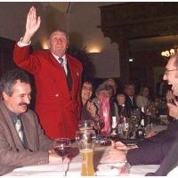 Verabschiedung von Präsident Alex Volz: Alex war stolz auf seine Mannen.