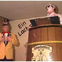 11.11. in der Linde: Fasnacht pur. Gegensätze vorgetragen von Arthur und Gene Bruderhofer.