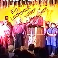 11.11. in der Linde: Finale. Abschließende Dankesworte durch den Präsidenten Jürgen Stöß.