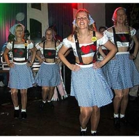 Erste Fasnachtsball im Rheingold: Dann konnte der Tanz los gehen.