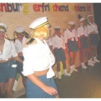 11.11. in der Linde: Es tanzten mit Christine Degen, Corina Götz, Anja Martini, Marion Lohrer, Sonja Lohrer, Michaela Schuster und Tanja Traber.
