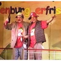 11.11. in der Linde: Markus Deutinger und Mamertus Stader beim Vatertagsausflug der Clowngruppe.