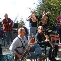 Die Clowngruppe zum Probewochenende in Amden.