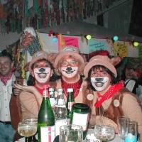 Ordensverleihung mit Fasnachtsball: Die Schneckenbürgler in Fasnachtslaune.