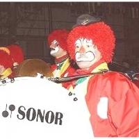 Die Clowngruppe in Radolfzell.