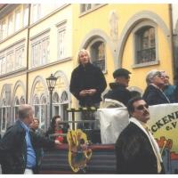 140 Jahre Elferrat: Stadtführer Daniel Gross erzählte Anekdoten aus der Stadtgeschichte.