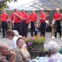 Die Clowngruppe beim Spieltermin in Hemmenhofen.