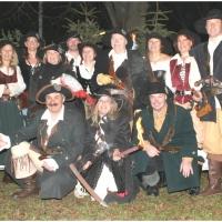 Der Schneckenbürgler Räuber wurde gegründet: Das erste Gruppenbild.