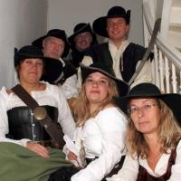 Der Schneckenbürgler Räuber wurde gegründet: Das erste Gremium mit Karin und Armin Ott, Julia Egenhofer, Dagmar Hohensteiner, Ferdi Nübel und Norbert Fiedler.