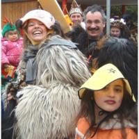 Schmutziger Donnerstag: Befreiung des Kindergarten Käthe-Luther.