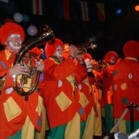 Schmutziger Donnerstag: Die Clowngruppe im K9.