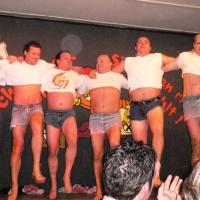 11.11. in der Linde: Es tanzten mit: Heinz Auer, Ralf und Udo Dietrich, Thomas Kofler, Armin Ott, Hubert Weber, Axel Zunker und Michael Winter.