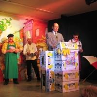 11.11. in der Linde: Begrüßung durch den Präsidenten Jürgen dem I..