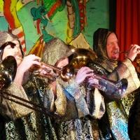 11.11. in der Linde: Die Musiker waren alle, gemäß dem Motto, als Ritter verkleidet.