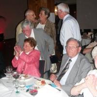 80. Geburtstag von Paul Bischoff: Paul und Elli genossen den Abend.
