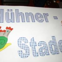 Ordensverleihung als Fasnachtsball: Motto: Schneckenbürgler Hühner-Stadel.