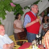 Räuberfest beim Ferdi: Paul Bischoff wurde zum Erhrenräuber ernannt.