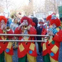 Schmutziger Donnerstag: Die Clowngruppe spielte beim Südkurier