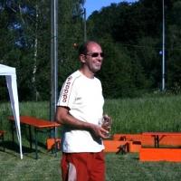 Schneckenbürgler Sommerfest: Präsident Jürgen Stöß begrüßte die Schneckenbürgler.