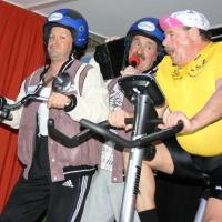 11.11. in der Linde: Ekki Moser, Heinz Auer und Udo Dietrich fuhren bei der Tour de France mit.