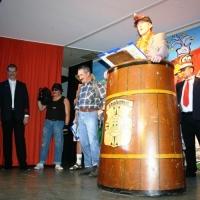 11.11. in der Linde: Beim Finale bedankte sich Präsident Jürgen Stöß bei den Akteuren des Abends.