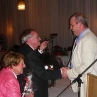Anläßlich seines Ausscheidens aus dem Elferrat wurde Paul Bischoff zum Ehrenschneeschreck ernannt.
