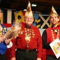 Frühschoppen im Konzil: Paul Bischoff wurde für seine langen Jahre im Konzil geehrt.