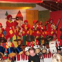 Anschließend spielte die Clowngruppe noch bei den Quakern in Allmannsdorf.