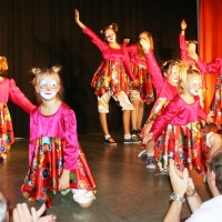"""11.11. in der Linde: """"Everybody Jam"""" mit den Tanzmäusen unter der Leitung von Karin Ott."""