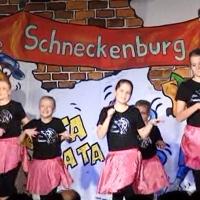 11.11. in der Linde: Das Kinderballett der Schneckenburg unter der Leitung von Annika und Karin Ott.