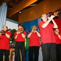 90 Jahre Schneckenburg: Die Clowngruppe eröffnete den Jubiläumsabend im St. Gallus.