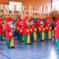 Schmutziger Donnerstag: Befreiung der Gebhard-Schule.