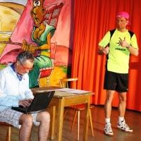 11.11. in der Linde: Ekki Moser und Jürgen Stöß waren zusammen im Chat-Room.