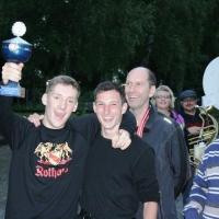 Boule-Turnier der Schneckenburg: Die Sieger wurden geehrt.