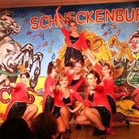 11.11. in der Linde: Es tanzten mit: Nicola Herrmann, Maike Kluge, Laura Jäckle, Leonie Martini, Annika Ott, Melanie Mühlbrandt und Vanessa Rahming.