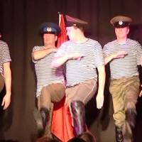 11.11. in der Linde: Das Männerballett unter der Leitung von Karin Ott zeigte einen russischen Tanz.