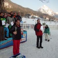Der Schneeschreck bei der vereinsinternen Skimeisterschaft am Diedamskopf.