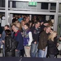 Männerballett-Treffen vom Schneeschreck: Dann war der Einlass der Massen.