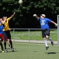 Fussball-Turnier der Giraffen: Der Schneeschreck trat wieder mit zwei Teams an.