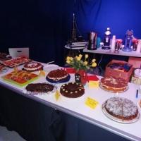 Männerballett-Treffen vom Schneeschreck: Die Kuchen-Theke war wieder reichlich bestückt.