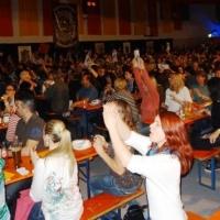 Männerballett-Treffen vom Schneeschreck: Das Publikum war begeistert.